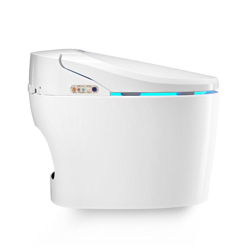 西马 即热式无水箱智能马桶全自动一体式坐便器电动冲洗马桶V62H