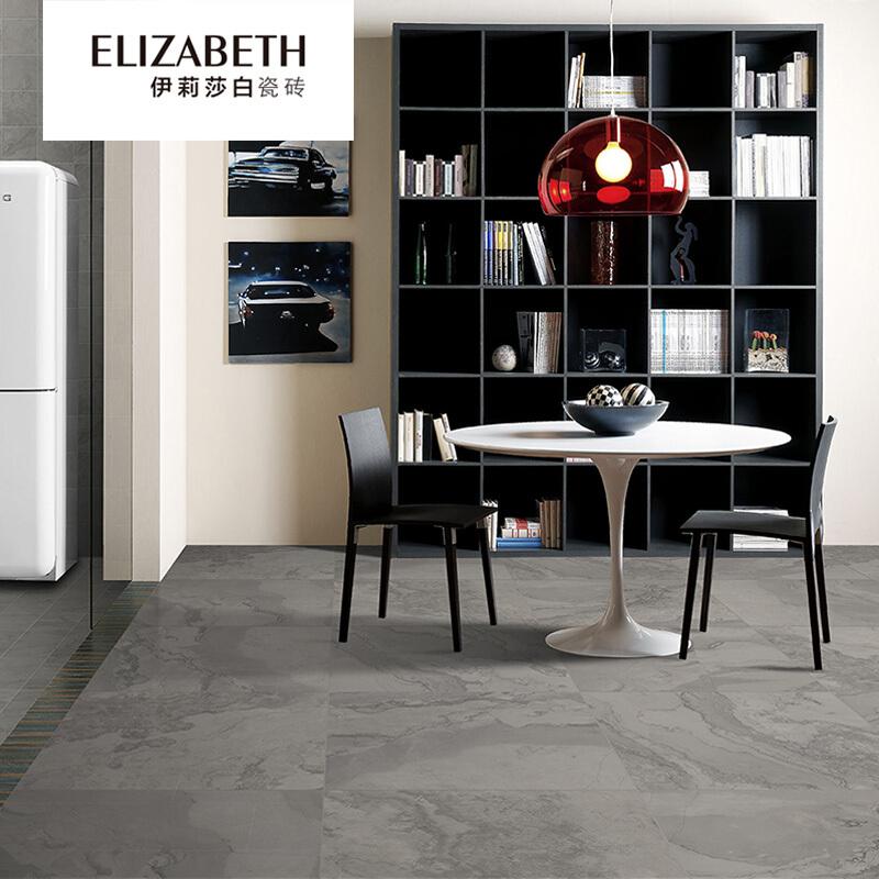 伊莉莎白瓷砖 塞纳河-厨房洗手间耐磨地砖-现代仿古风格瓷砖-地板砖800×800-EQ8228B